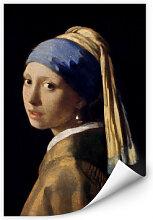 Wallprints - Wallprint Vermeer - Das Mädchen mit