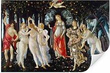 Wallprints - Wallprint W - Botticelli - Der Frühling