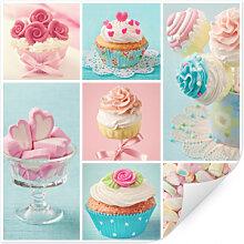Wallprints - Wallprint W - Cupcake Collage