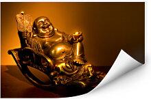 Wallprints - Wallprint W - Happy Buddha