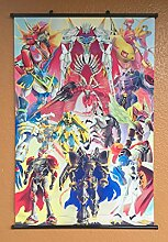 Wallscrolls-Wonderland Digimon Abstract Wallscroll Stoffposter Plakat Rollbild Tapete Dekoration Geschenk Anime Manga Home Design Wall Decoration Gift Present 60x90CM