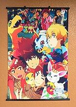 Wallscrolls-Wonderland Digimon Wallscroll