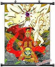 Wallscrolls-Wonderland Naruto Uzumaki Wallscroll