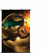 Wallscrolls-Wonderland Pokemon Pokemon Ball Wallscroll Stoffposter Plakat Rollbild Tapete Dekoration Geschenk Anime Manga Home Design Wall Decoration Gift Present 60x90CM