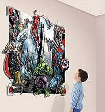Walltastic 3D Pop-Out-Wanddekoration Avengers