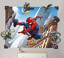 Walltastic 3D Pop-Out-Wanddekoration Spider-Man