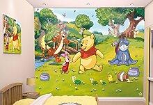 Walltastic 42100 Disney, Winnie Pooh, Tapete,