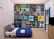 Walltastic 43831 Transformers Robots in Disguise, Tapete, Wandbild, Paper, bunt, 52,5 x 7 x 18,5 cm