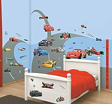 Walltastic Disney, Cars, Kit zur Raumdekoration,
