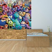 Walltastic Disney Monsters University Art