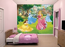 Walltastic Disney, Prinzessinnen, Tapete,