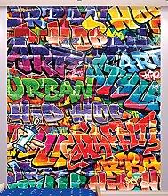Walltastic Graffiti Tapete, Wandbild, Papier,