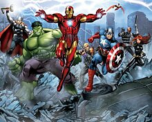 Walltastic Motivtapete Avengers, 2,4 x 3 Meter (8 x 10 Fuß)