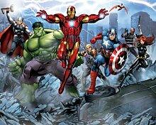 Walltastic Motivtapete Avengers, 2,4 x 3 Meter (8