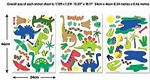 Walltastic Wandaufkleber mit Dinosauriermotiven,