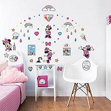 Walltastic Wandaufkleber mit Disney Minnie Mouse,