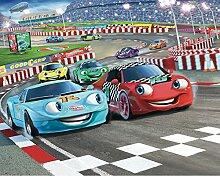 Walltastic WT4010 Car Racers Designer Fototapete