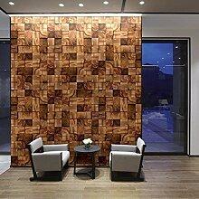Walplus 360x180 cm Wandaufkleber Quadratisch