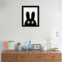 WALPLUS Kaninchen Art Leinwand drucken Wand