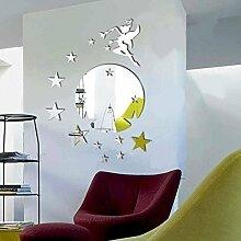 Walplus Wandspiegel Fliegende Fee Tinker Bell, mit