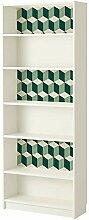 WALPLUS wm5115grün 3D Cubes Wandtattoo, Vinyl,