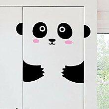 WALSITK Hintergrund Wandaufkleber Happy Panda