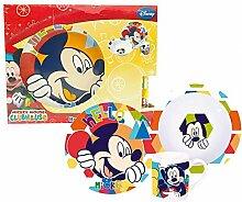 Walt Disney Mickey Mouse 3TLg Porzellan Kinder