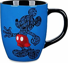 Walt Disney World Tasse mit Mickey Silhouette, 450