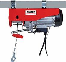 WALTER Seilhebezug 1200W, 12m, 600kg mit