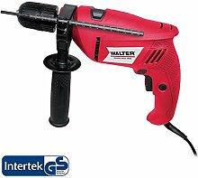 WALTER Werkzeuge 1389-1 Schlagbohrmaschine im Koffer, 500 W, 230 V, Rot/Schwarz