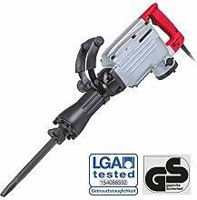 WALTER Werkzeuge 620200 Stemm-und Abbruchhammer 1700W, Rot-Schwarz