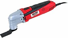 WALTER Werkzeuge WTK-MT300-01 Multifunktionswerkzeug, 300 W, 230 V, Rot/Schwarz