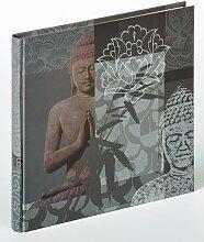 Walther Album Buddha Einheitsgröße grau