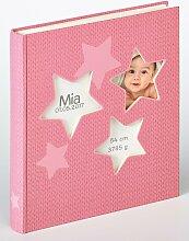 Walther Album Estrella 28x31 cm rosa Bürobedarf