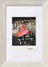 walther design Bilderrahmen, weiß, 13 x 18 cm