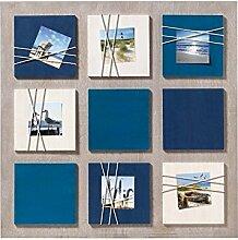 walther design Galerierahmen La Casa blau, für 6