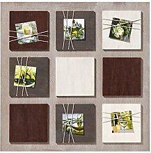 walther design Galerierahmen La Casa braun, für 6