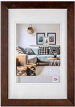walther design Nizza Bilderrahmen, Nussbaum, 50 x