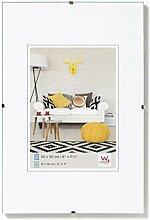 walther design RB060K Rahmenlose Bildhalter, 50x60