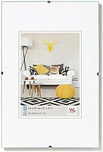 walther design RB090K Rahmenlose Bildhalter, 60 x