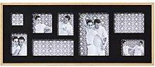 walther design YP899B Galerierahmen Double für 8