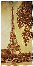 Wamika Badetücher Eiffelturm Flussschiff, Baum