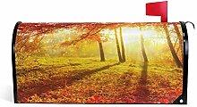 Wamika Briefkasten-Abdeckung, Motiv Herbstbäume,