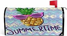 Wamika Cartoon-Ananas und Sonnenbrille,