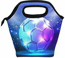 Wamika Lunchbox/Lunchbox mit Fußballball-Motiv,