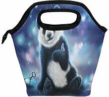 Wamika Panda Galaxy Star Lunchbox Lunchbox