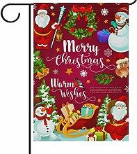 Wamika Schneeflocken Weihnachtsmann Geschenk
