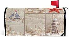 Wamika Seestern-Dekoration für Briefkasten,