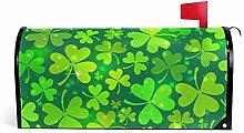 Wamika St. Patrick's Magic Green Clover Lights