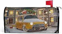 Wamika Vintage Christmas Car Welcome